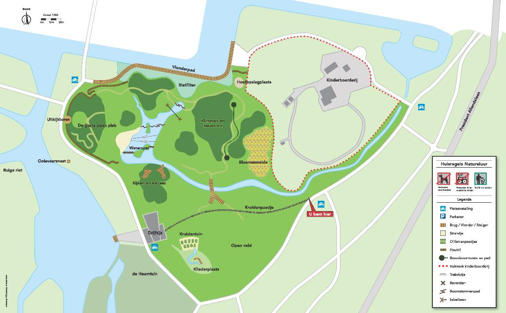 Contact en locatie - Natuurspeeltuin de Natureluur