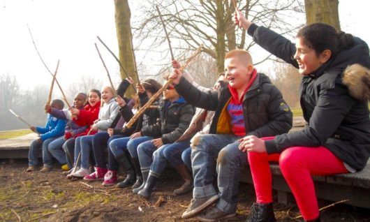 Survival 7 tot 12 jaar speer les natureluur