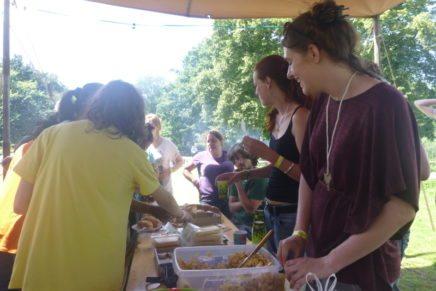 Buurtcamping vrijwilligersbijeenkomst