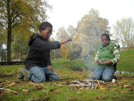 Vuurmaak workshop De Natureluur