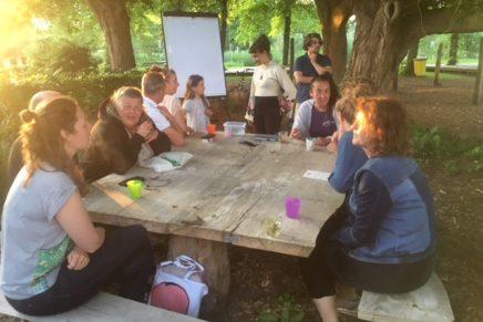 Vrijwilligersbijeenkomst Buurtcamping