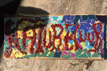 """Nieuw Mozaïekbord """"Natureluur"""""""
