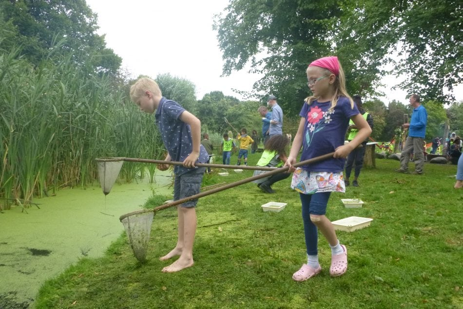 Zelf spelen en extra's: de mogelijkheden in de Natureluur tijdens de zomer van 2018