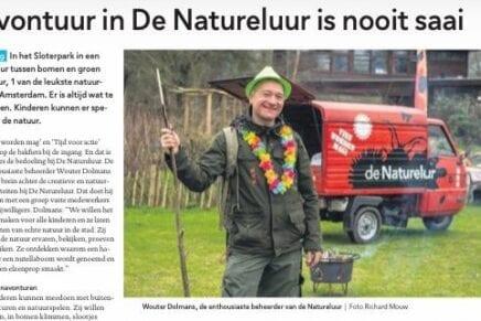 Natureluur in de Krant Amsterdam