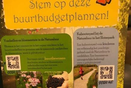 Stem op buurtbudgetplannen voor een betere Natureluur