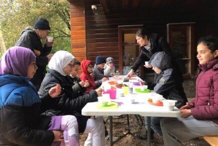 Terugblik: bezoek van nieuwkomer kinderen van Openbare Basisschool de Roos.